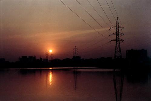 sunset urban film analog landscape nikon dusk fujifilm dhaka bangladesh nikonf80 af50mmf18d fujicolorc200 dhakadivision epsonv330 sheikhshahriarahmed