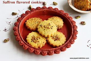 saffron- cookies