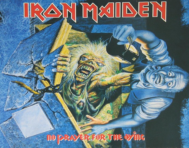 "IRON MAIDEN No Prayer For The Dying 12"" Vinyl LP"