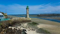 Le phare de la pointe à l'Aigle - Baie de Saint-Brieuc