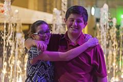 Gabi and Ian at Sundance Square