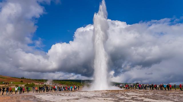 Geysir - a geyser in southwestern Iceland