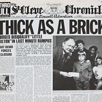 "JETHRO TULL Thick as Brick Fold Out Newspaper 12"" LP VINYL"