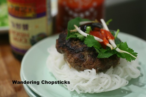 Pho Burger with Vietnamese Beef Noodle Soup Spices 13