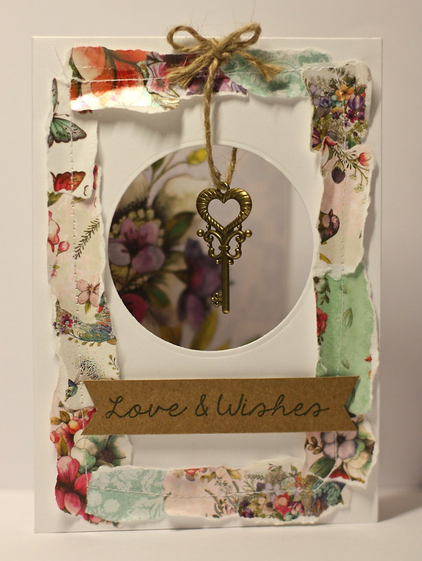 Love and Wishes Bohemian Aperture Card by StickerKitten