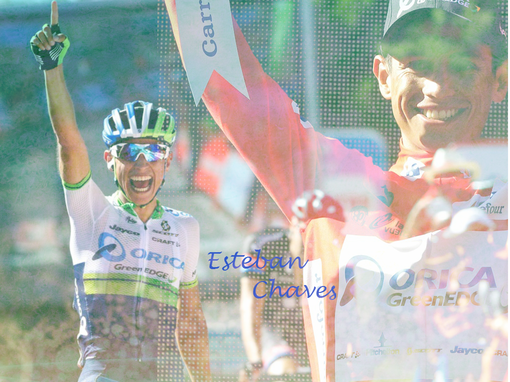 Wallpaper Esteban Chaves LV2015