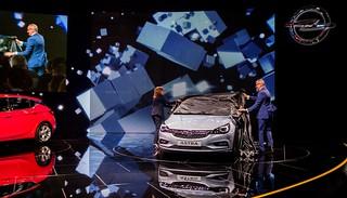 IAA 2015: Weltpremiere neuer Opel Astra