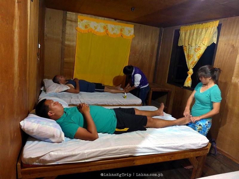 Whole Body Massage (350 Pesos/person) in Simon's Viewpoint Inn in Batad, Banaue, Ifugao