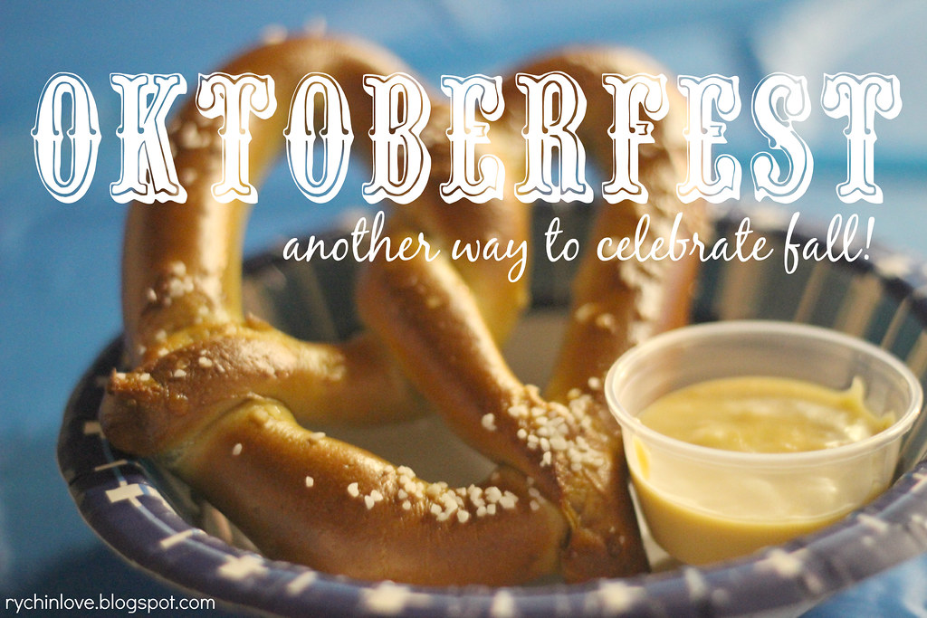 Oktoberfest: a yummy way to celebrate fall!