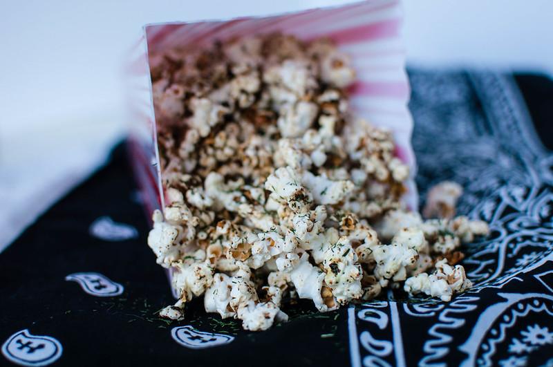 Garlic Dill Popcorn 2