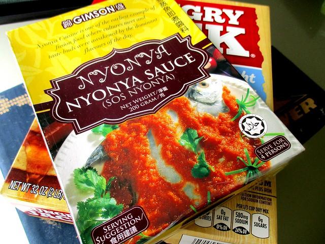 Gimson nyonya sauce