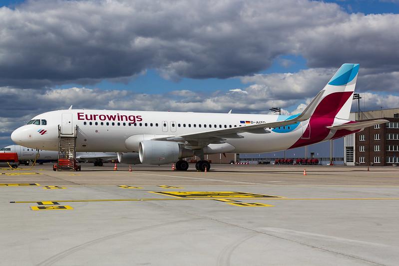 Eurowings - A320 - D-AIZQ (1)
