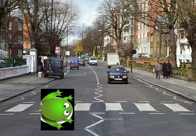 Frogger Abbey Road Edition
