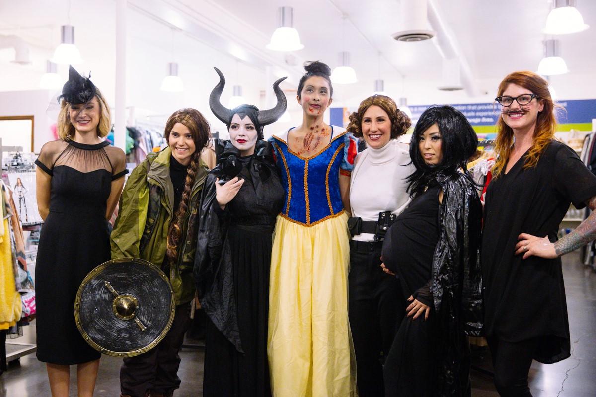 Goodwill Halloween Fashion