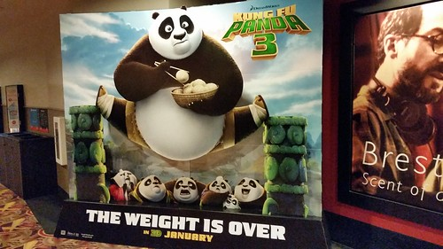 Kung Fu Panda 3 Movie Standee