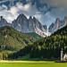 Val di Funes by Achim Thomae