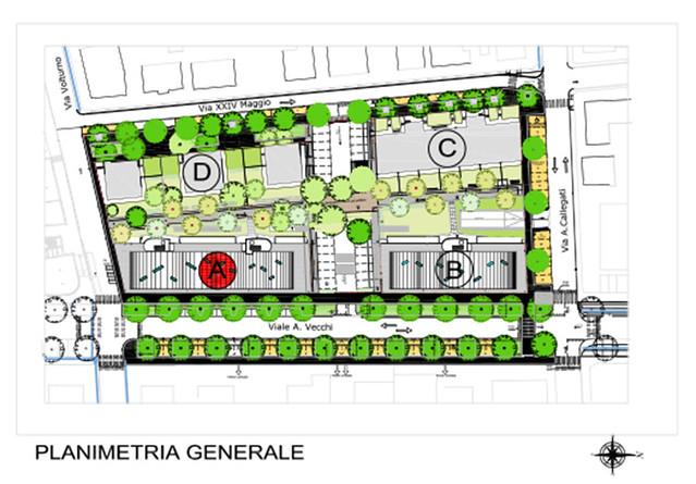 PruAmare - Fabbricato A - Planimetrie appartamenti
