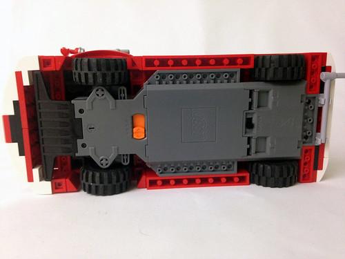 LEGO VW T1 Fire truck RC MOC