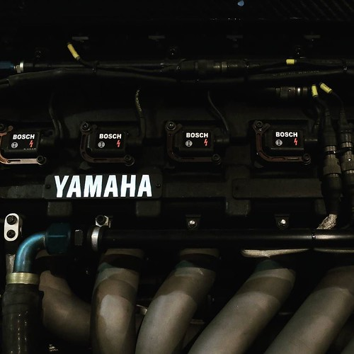 レーシングカーのエンジンも。 #ヤマハCP