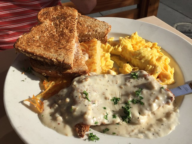 Chicken fried steak - The Cove on Castro