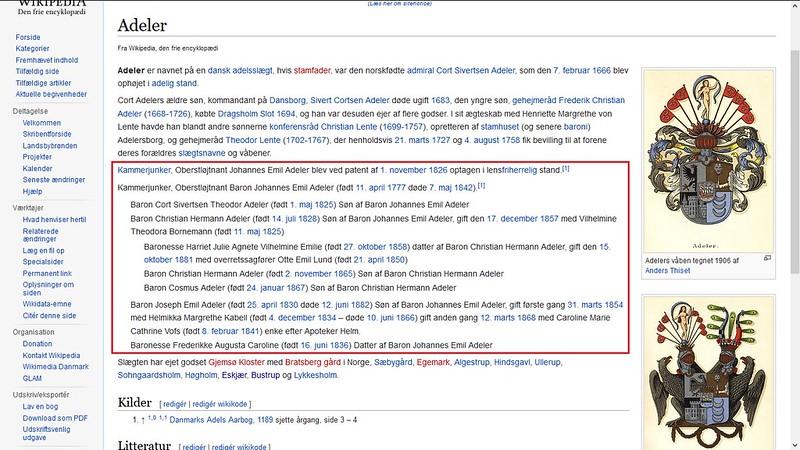 wikipedia på dansk