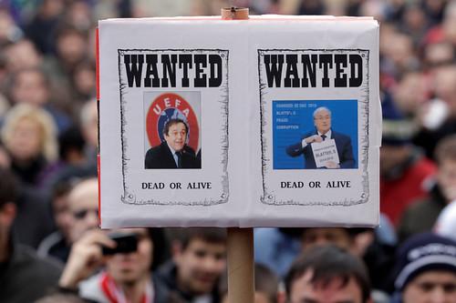 Fifa-Skandal: 90-Tage-Sperre für Blatter und Platini