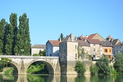 River Saône - Photo of Sermesse