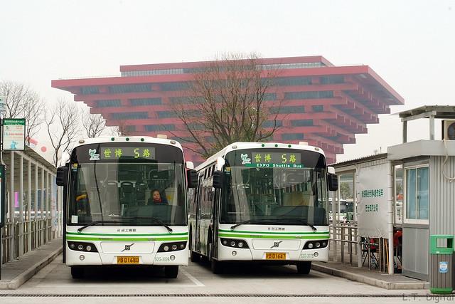 | 沪B D1680+沪B D1647 | VOLVO B7RLE | SUNWIN SWB6120V4LE |