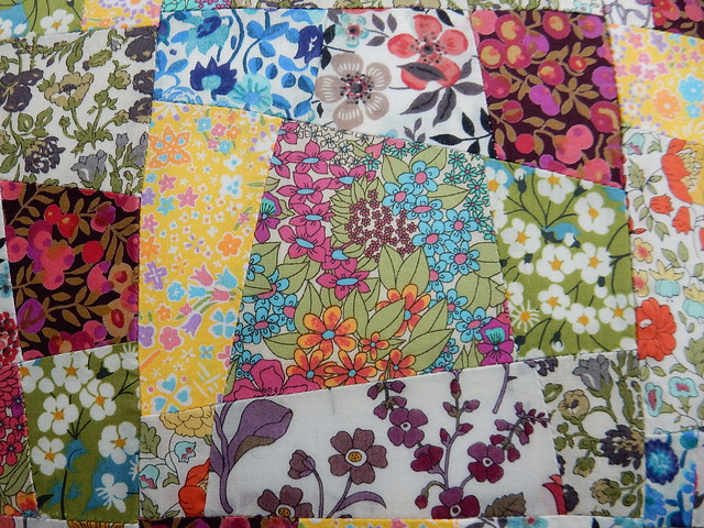 sew saturday Liberty lawn patchwork cushion (4)
