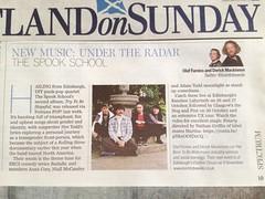 Scotland On Sunday, The Spook School