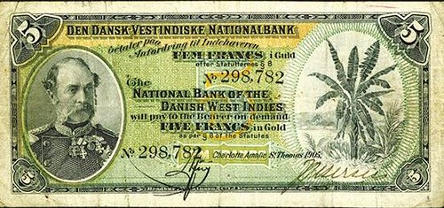 National Bank of the Danish West Indies 1905