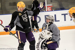 Dustin Brown & Jonathan Quick