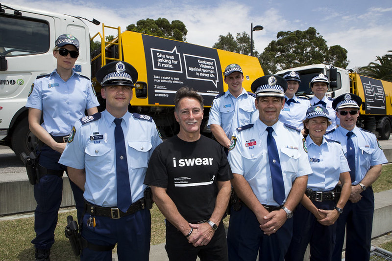 White Ribbon Day swear in  ceremony at Redfern Oval 2015