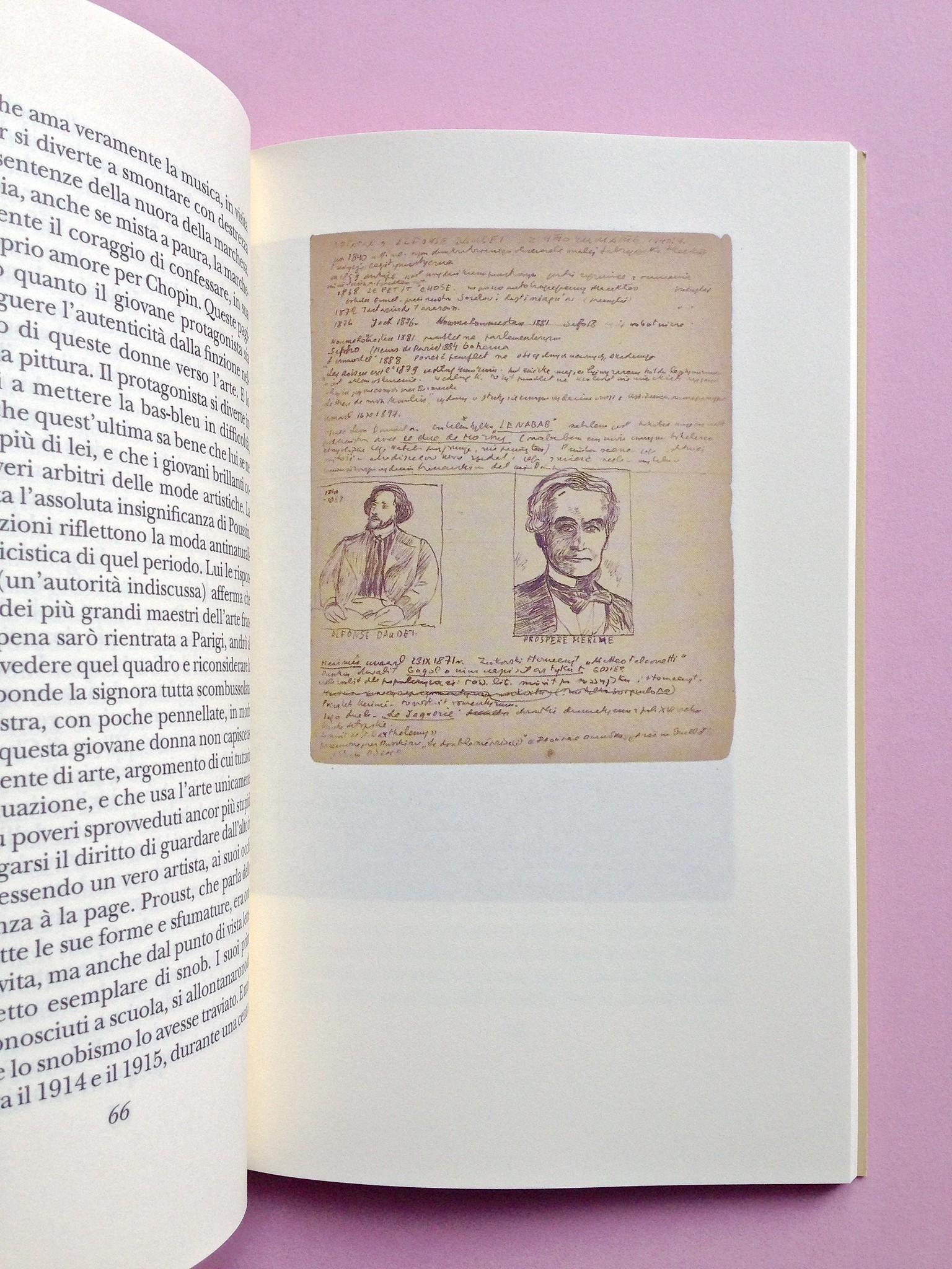 Proust a Grjazovec, di Józef Czapski. Adelphi 2015. Resp. grafica non indicata. Illustrazione nel testo, indicazione del numero della pag. non indicata, a pag. 67 (part.), 1
