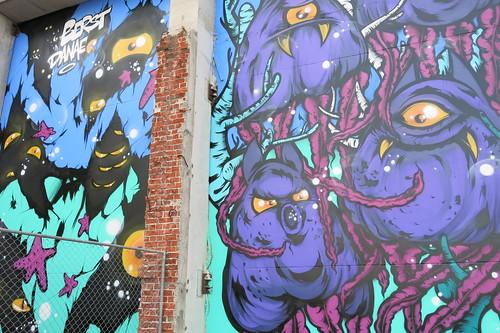 Street art by Berst