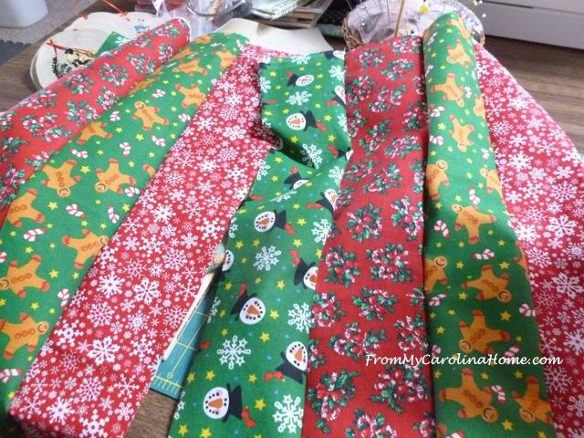 Quick Christmas squares 1