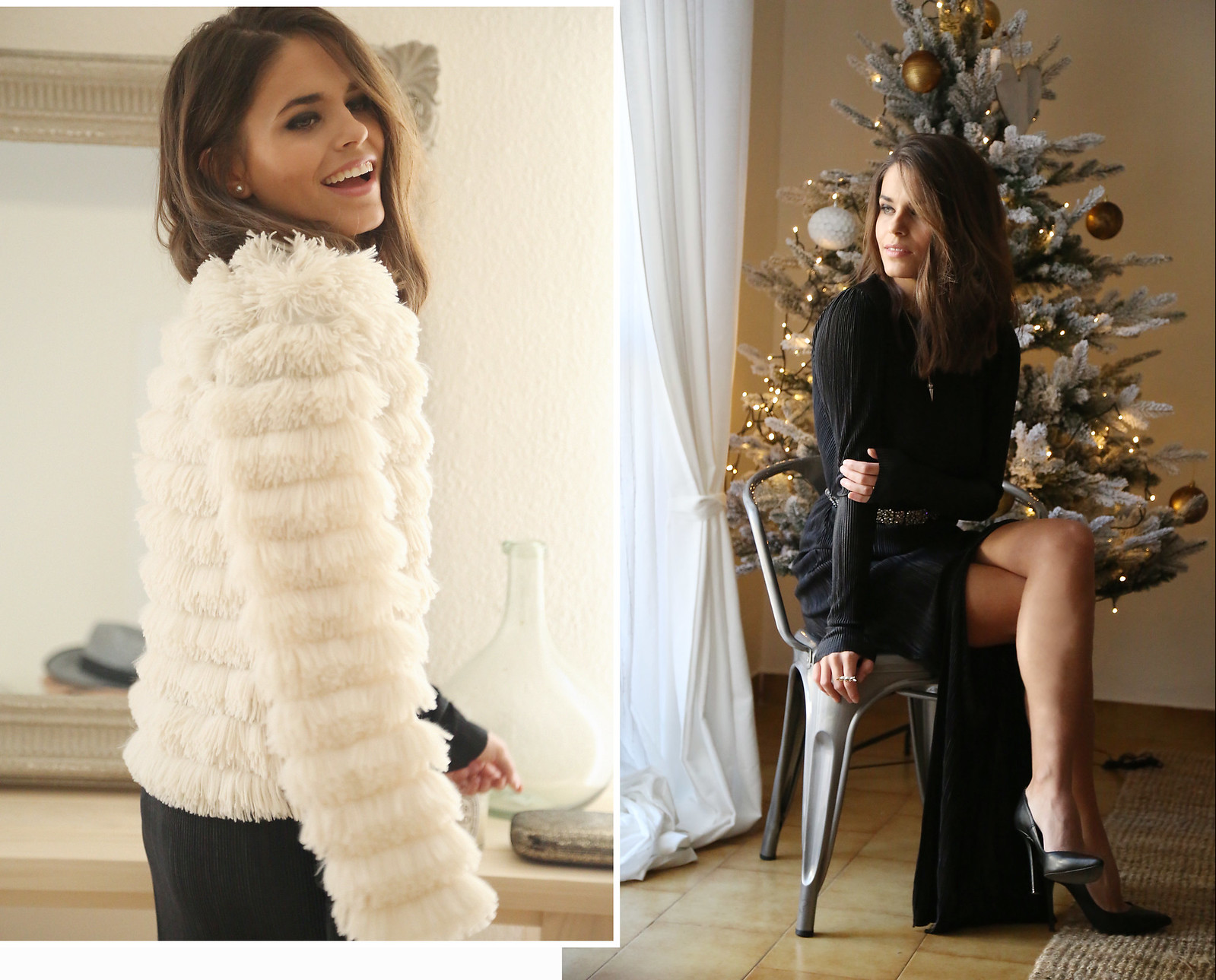 majorica joyas black long dress - jessie chanes 9