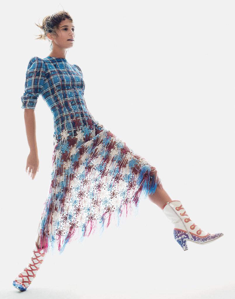 Алисия Викандер — Фотосессия для «Vogue» 2015 – 2