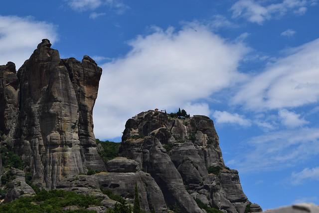 メテオラの岩