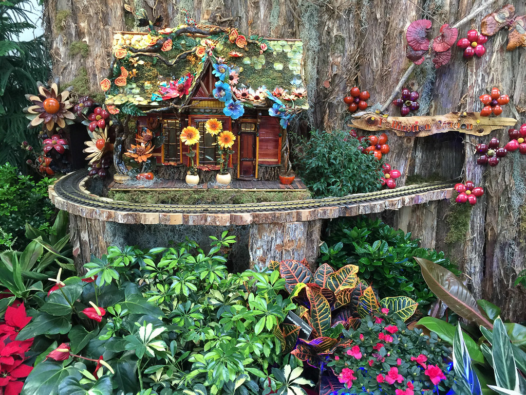 Christmas Train Display at U.S. Botanic Gardens