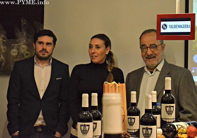 El chef Víctor Salvador, durante su intervención en la presentación oficial de Valdenoguera en el CIG.