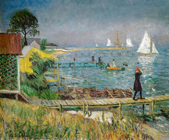 William Glackens - Bathers at Bellport, 1912 at The Phillips Collection Washington DC