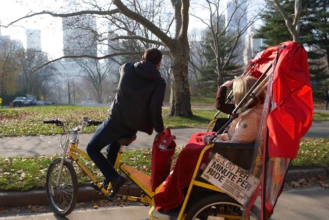 Pedicab, Central Park