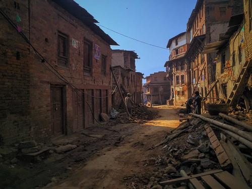 Quake-hit Bhaktapur