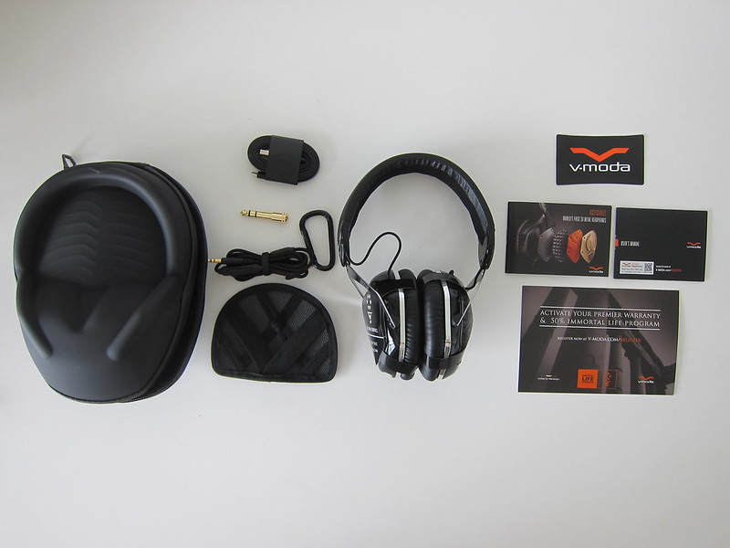 V-MODA Crossfade Wireless Headphones - Box Contents