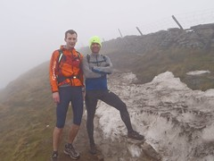 Tom & Greg on Whernside Image