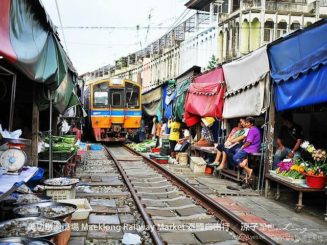 美功鐵道市場 Maeklong Railway Market 泰國自由行 14