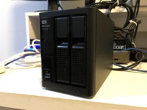 WD My Cloud PR2100 ด้านหน้า