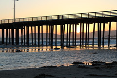 Sunset at Pismo Beach