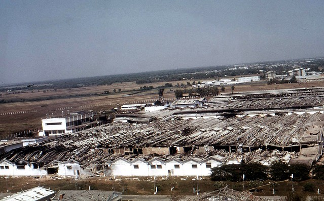 Vinatexco Textile Mill after Tet Offensive 1968